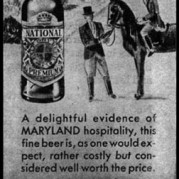 National Premium Ad - 1945