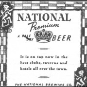 National Premium Ad - 1938
